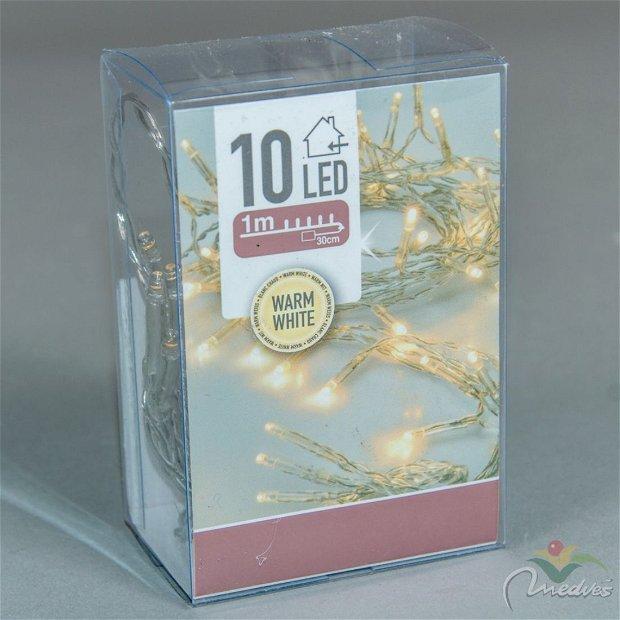 Ghirlanda luminoasa decorativa- 10 leduri, 1 m lungime