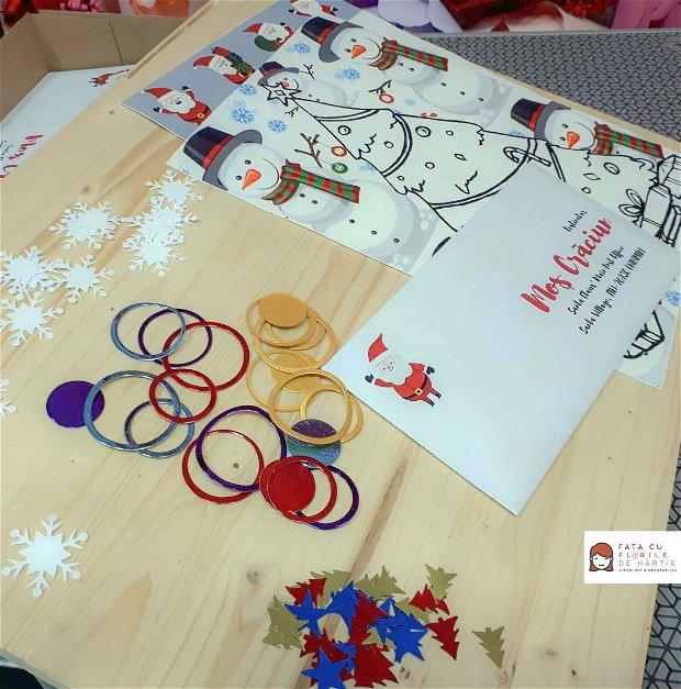 Kit Hobby pentru Copii: Scrisoare pentru Mos Craciun