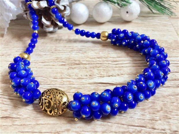 Colier royal blue