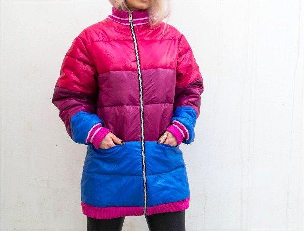 Jacheta matlasata 3 culori