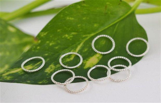 Zale argint 925, 10mm, inchise (1)