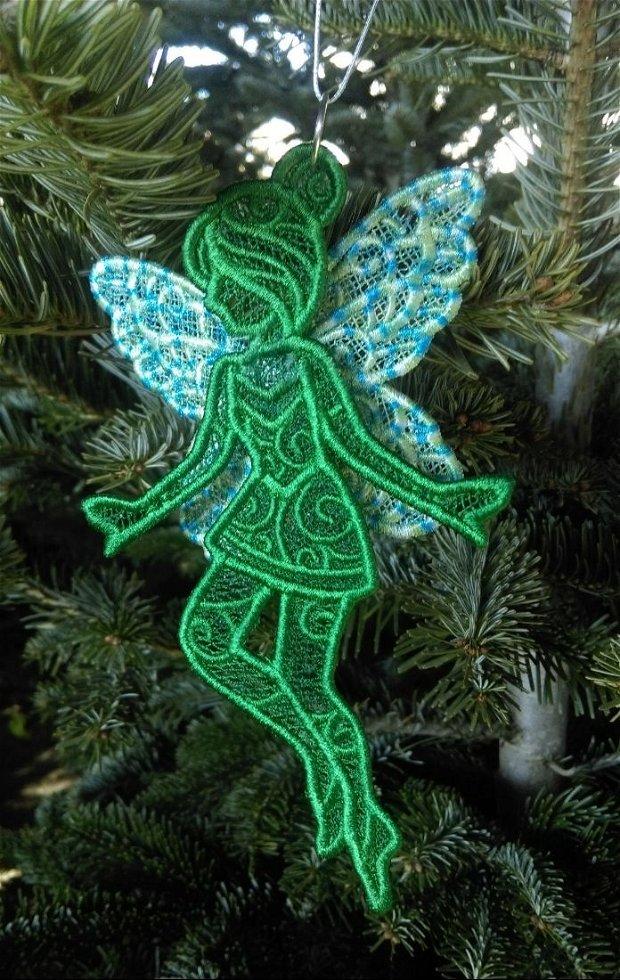 Fluture spiridus de poveste Elf