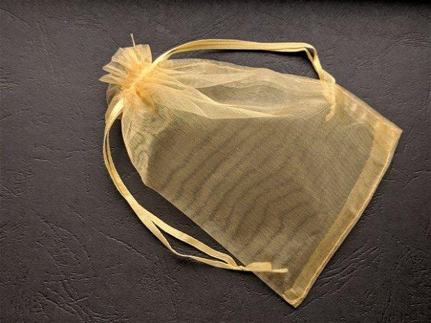 LAE43 - saculet organza auriu