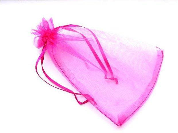 LAE25 - saculet organza roz