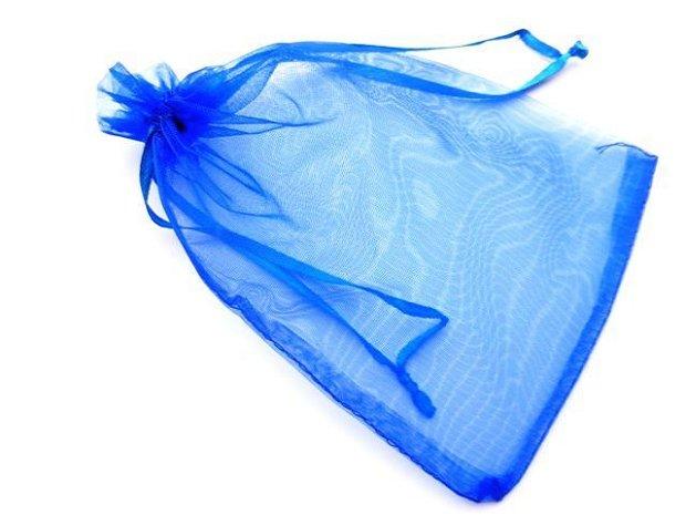LAE05 - saculet organza albastru