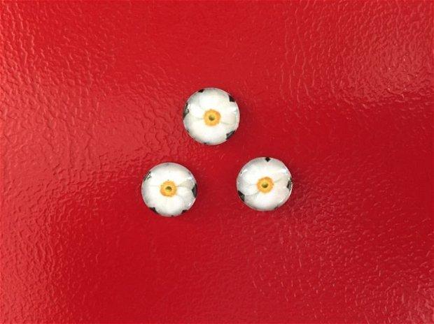 Cabochon narcisa, 12 mm