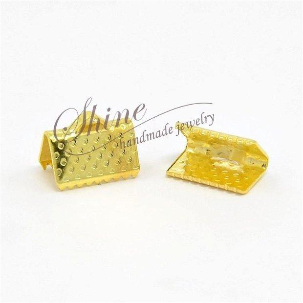 Capat panglica auriu, 10x7x5mm