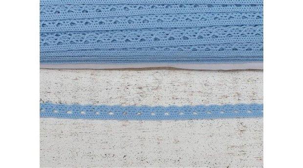Dantela  albastru deschis- 1m/1cm- 0094