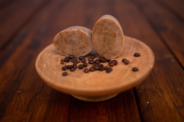 Sapun exfoliant cu cafea