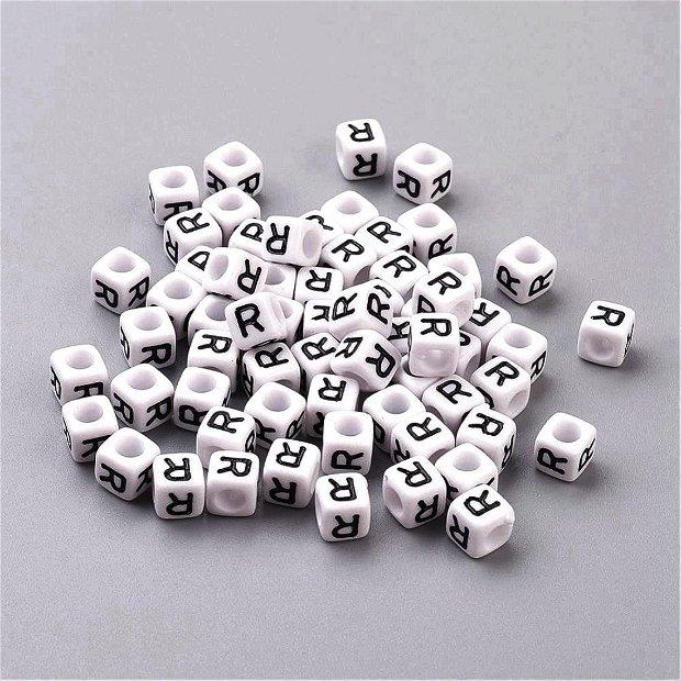 Alfabet, margea litera R cub -67S