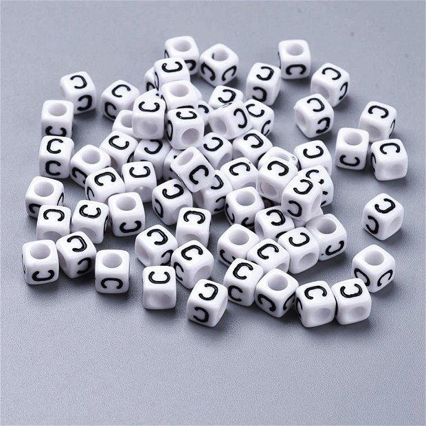 Alfabet, margea litera C cub -67S