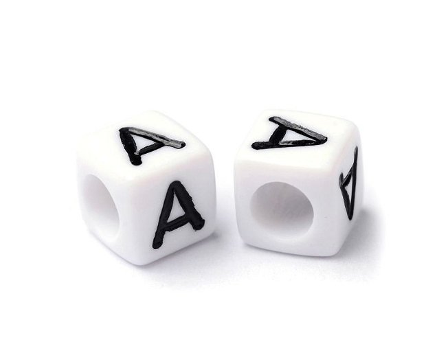 Alfabet, margea litera A cub- 67S