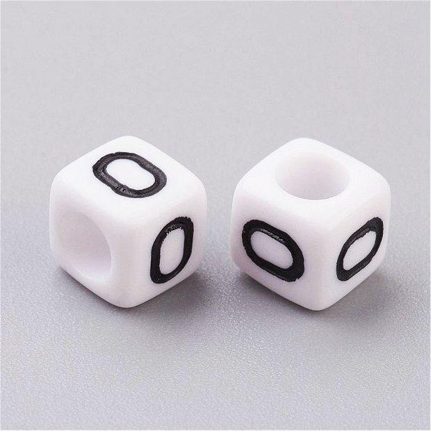 Alfabet, margea litera O cub -67S