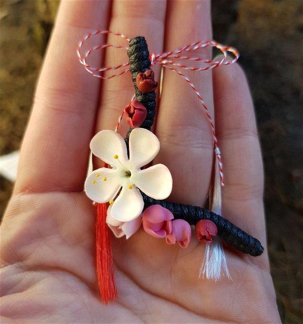 Martisor crenguta flori de mar