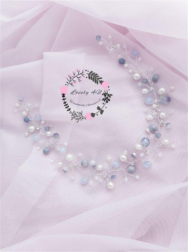 Coronita Eleganta, Accesoriu cu cristale