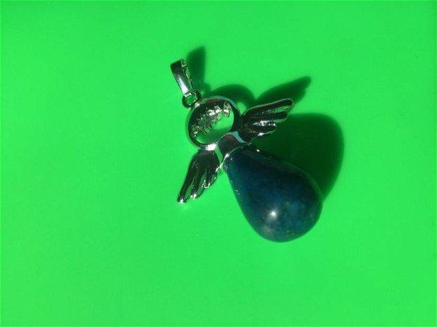Pandantiv Ingeras cu lapis lazuli