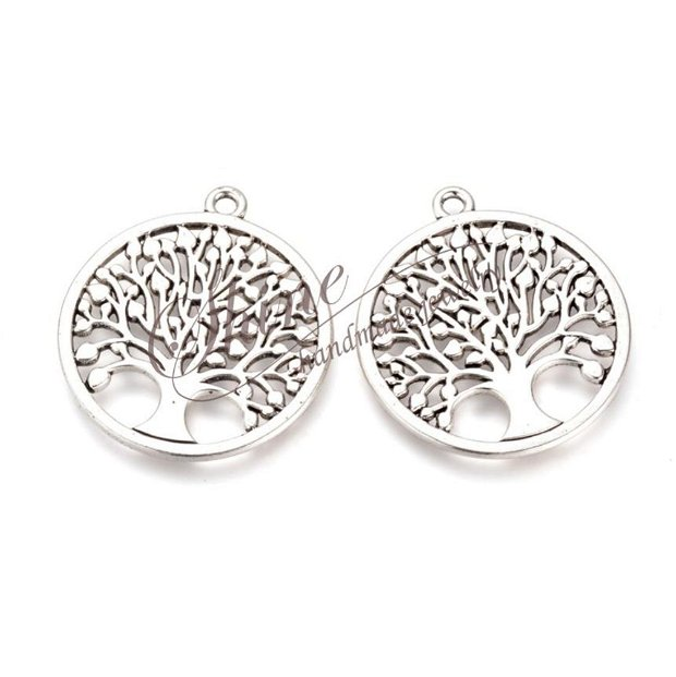 Pandantiv copacul vietii, platinum