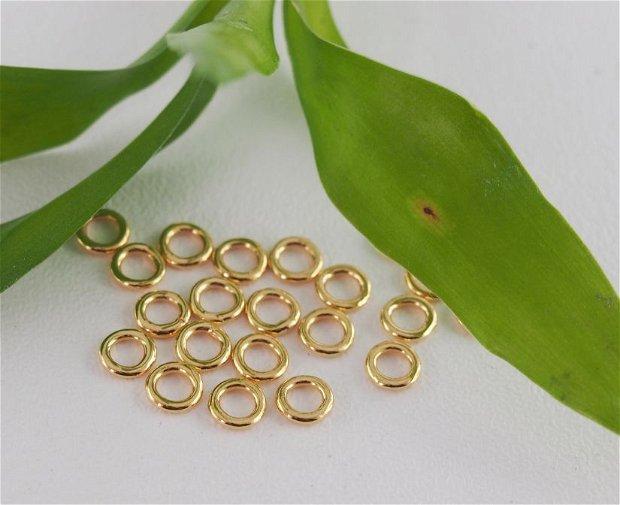 Zale aurite inchise, 4mm (2)