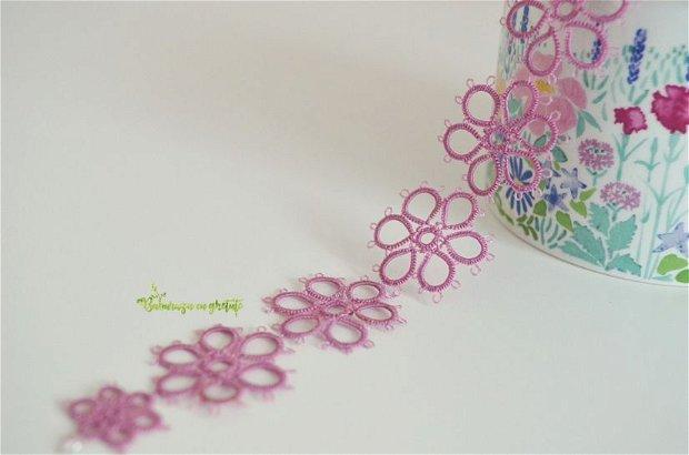 Bratara delicata roz pastel