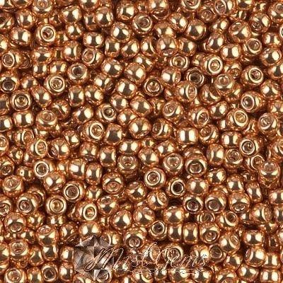 Miyuki Rocailles RR8/0-1052 Galvanized Gold