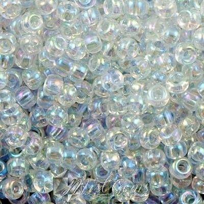 Miyuki Rocailles RR 8/0-0250  Transparant AB Crystal