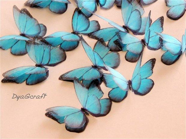 Fluturi din matase naturala pentru rochii