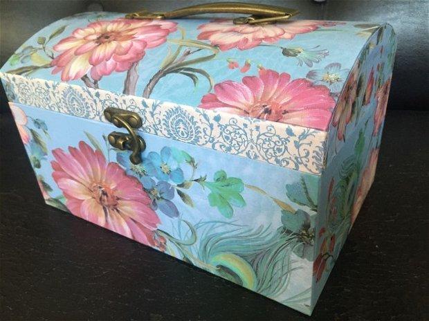 Cutie cufăr (24x17x14cm)
