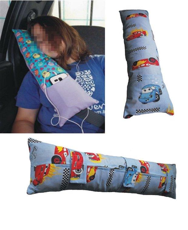 Disney Cars - Child's Seat Belt Pillow -- Perna de centură pentru copii