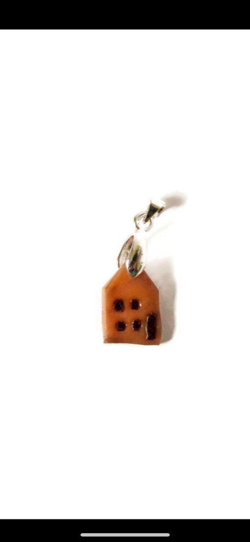 Pandantiv miniatura casa