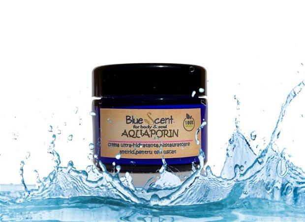 Aquaporin-crema ultra-hidratanta,restauratoare,antirid,pentru ten foarte uscat-BlueScent