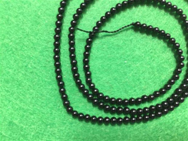 Sirag margele Onix 2.4 mm-Onx1