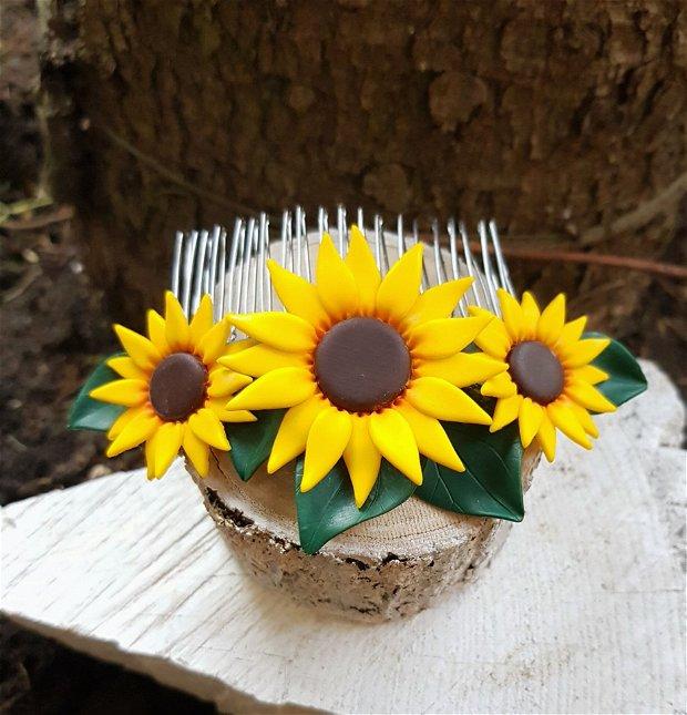Accesoriu par floarea-soarelui