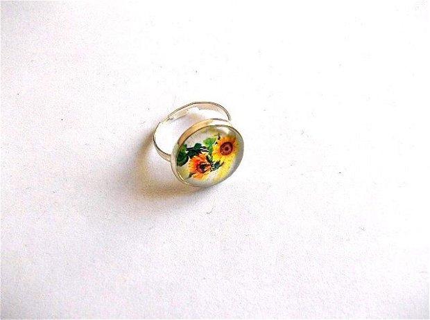 Inel cu floarea soarelui 34587