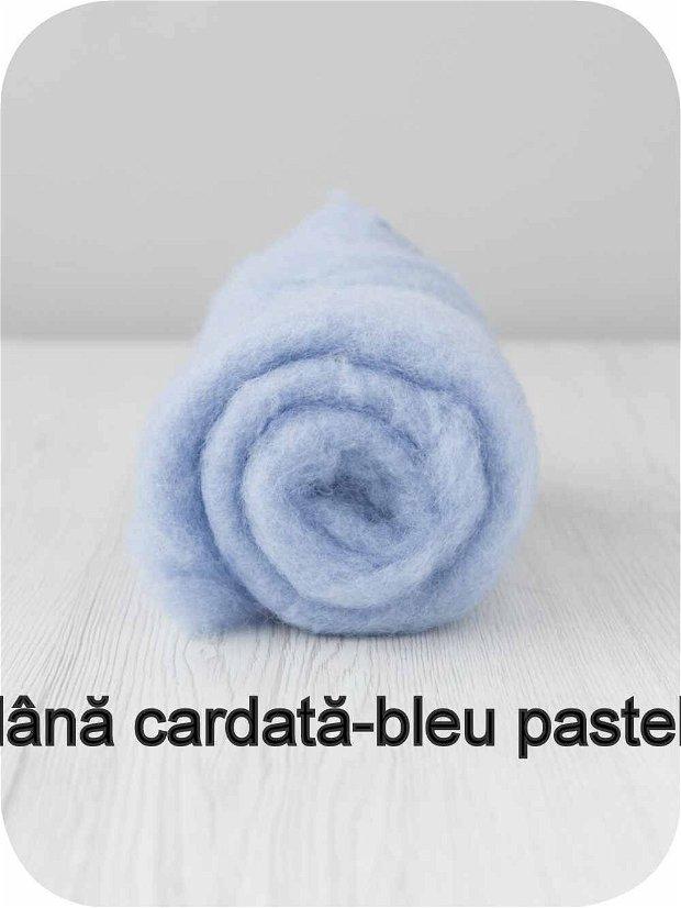 lana cardata- bleu pastel
