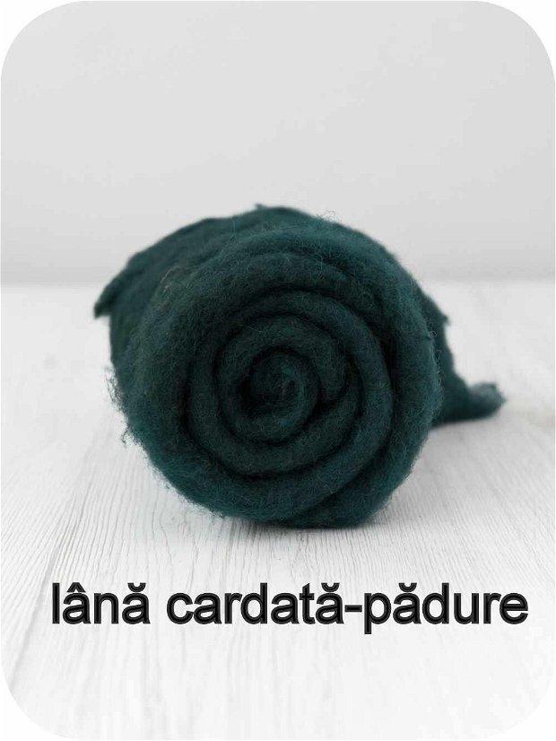 lana cardata- padure