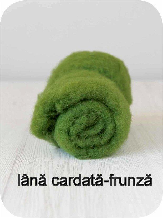 lana cardata- frunza
