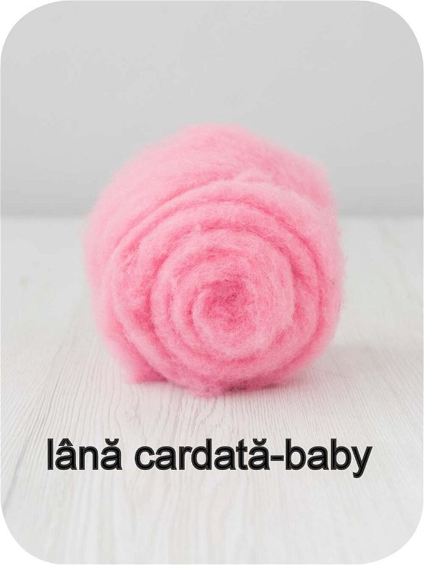 lana cardata- baby