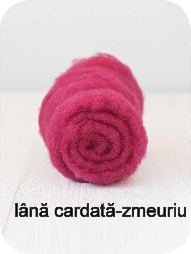 lana cardata- zmeuriu