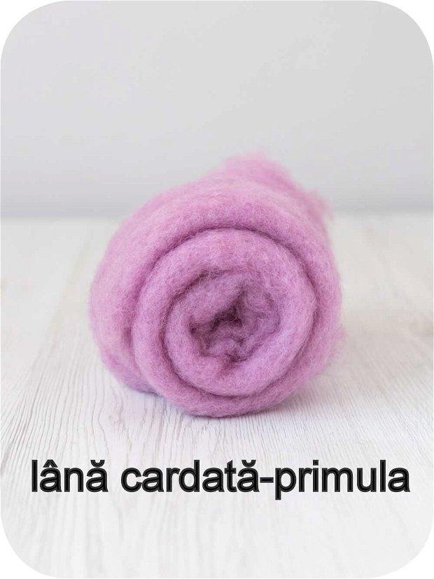lana cardata- primula