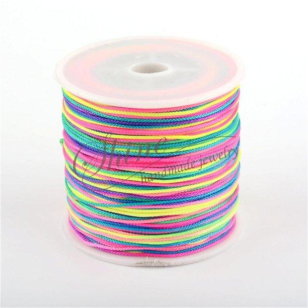 Snur multicolor, 1mm