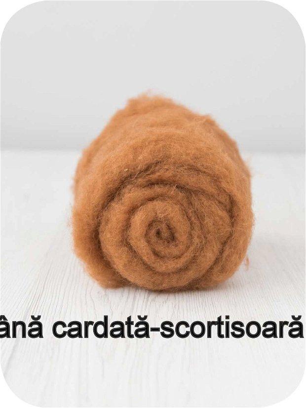 lana cardata-scortisoara