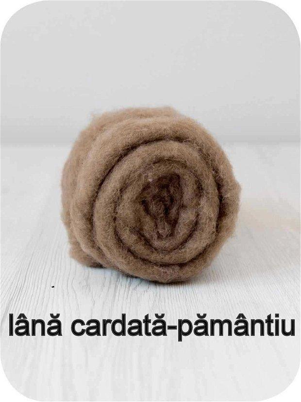 lana cardata-pamantiu