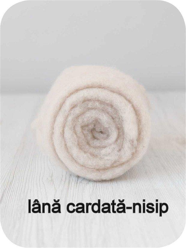 lana cardata-nisip