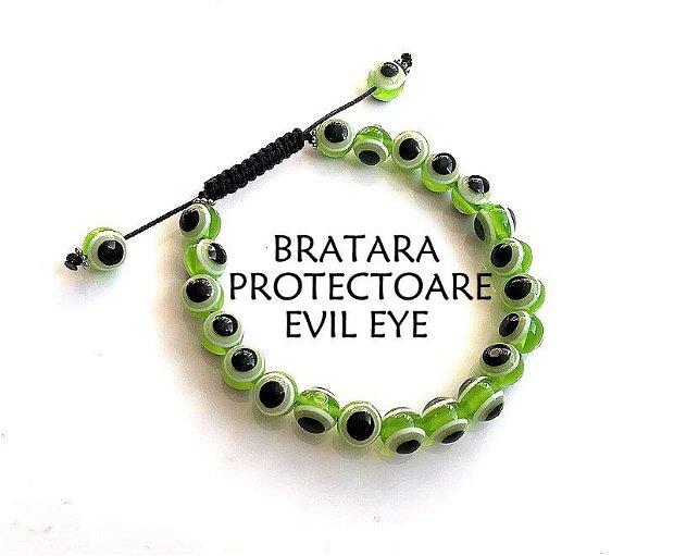 Bratara Evil Eye*Bratara protectoare*Bratara Shamballa*Bratara reglabila