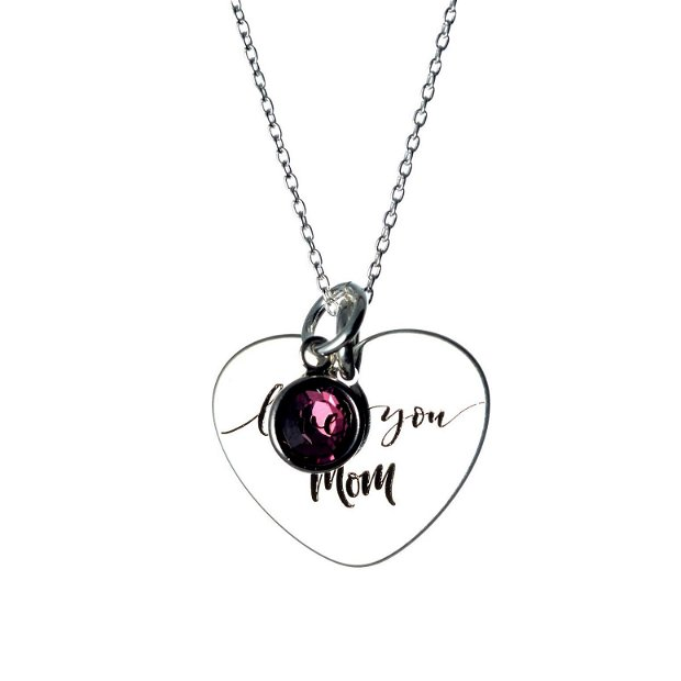 Sisters for Life - inimioara argint - cadou pentru sora