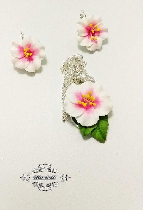 Set cu hibiscus
