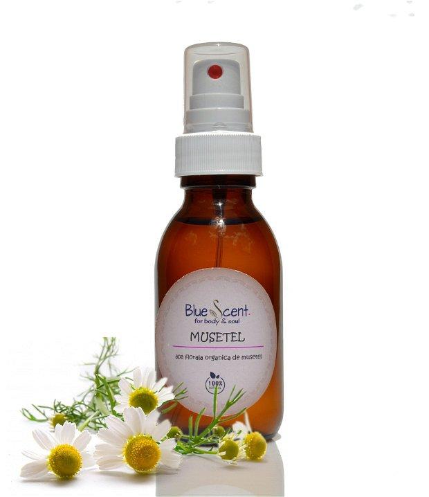 Apa florala organica de musetel( matricaria chamomilla) -BlueScent