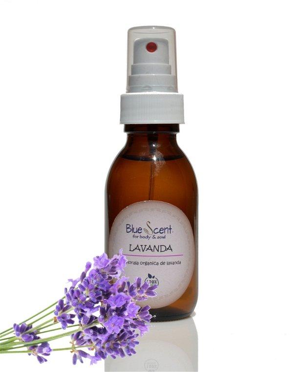 Apa florala organica de Lavanda(Lavandula angustifolia)-BlueScent