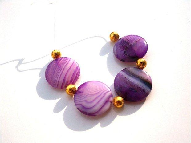 Purple onix agat