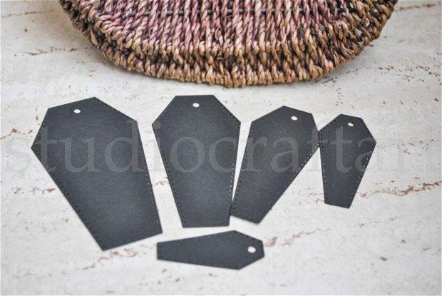 50b. taguri / etichete din carton - sicriu